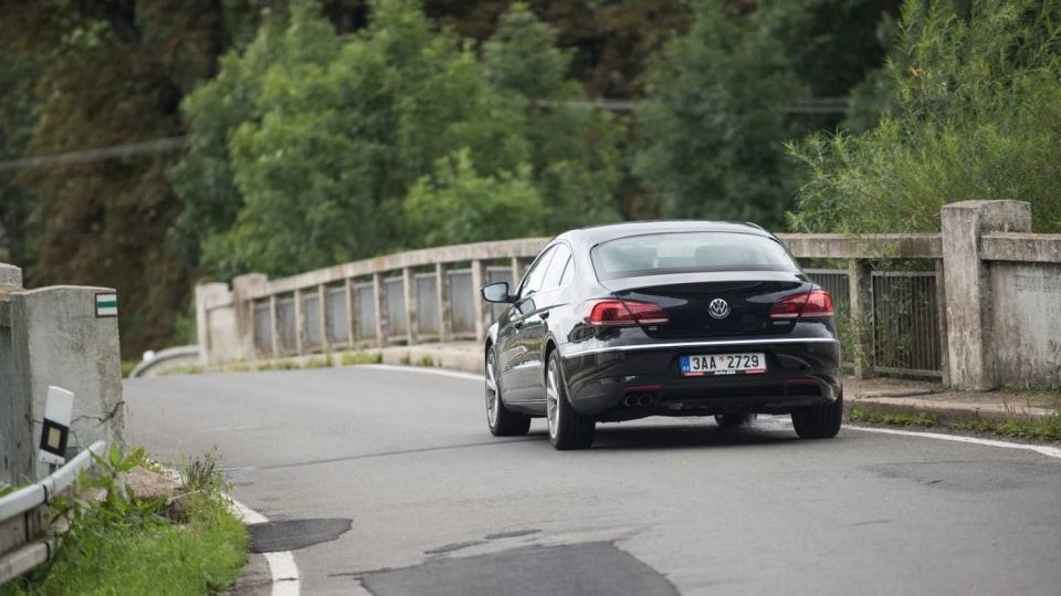Ojetý Volkwagen CC jízda 3