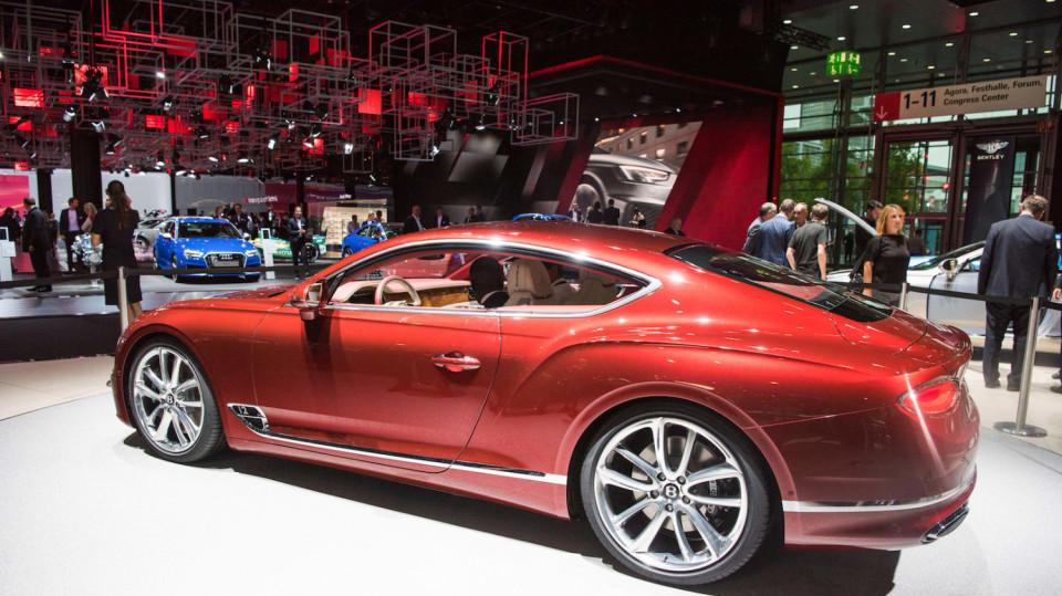Bentley Continental GT 2018 6