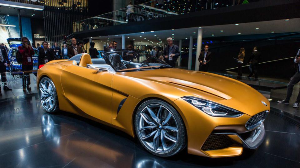 Působivé koncepty BMW na stánku ve Frankfurtu 4