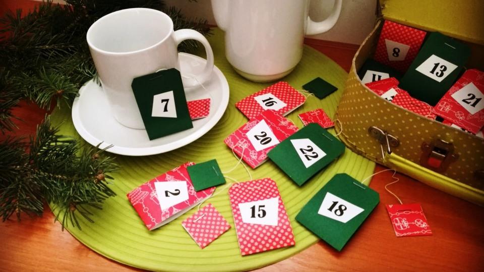 Vánoce s vůní ovocného čaje