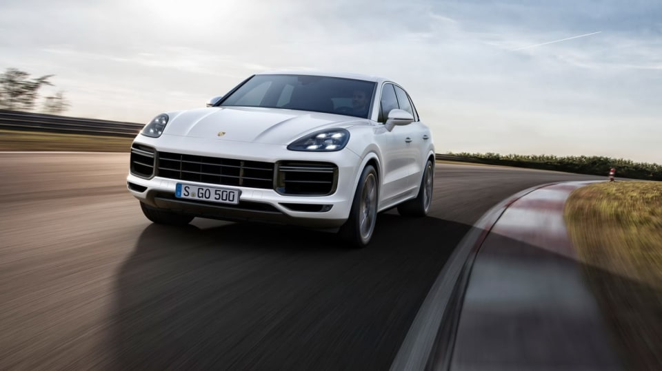 Porsche Cayenne Turbo 1