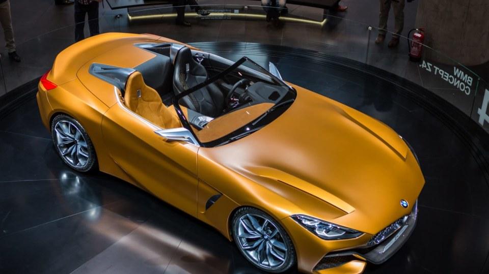 Působivé koncepty BMW na stánku ve Frankfurtu 6