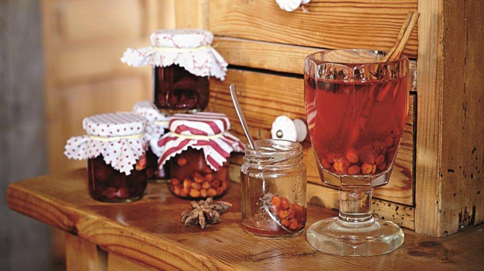 Pečený čaj 1