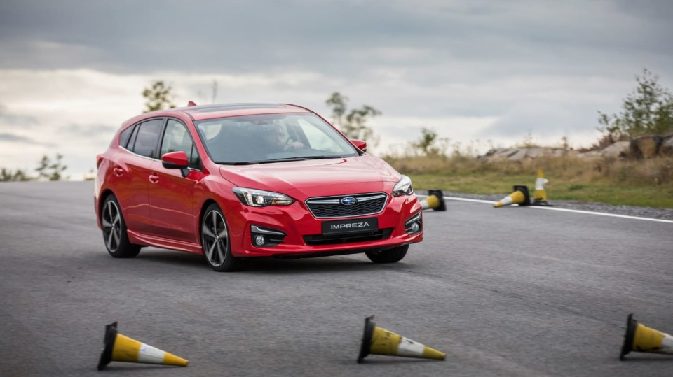 Nové Subaru Impreza vyniká skvělým podvozkem. 1