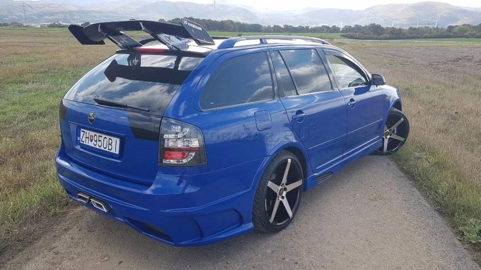 Tuningová Škoda Octavia ze Slovenska 8