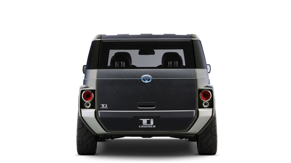 Dodávka i SUV. Toyota Tj Cruiser Concept. 4