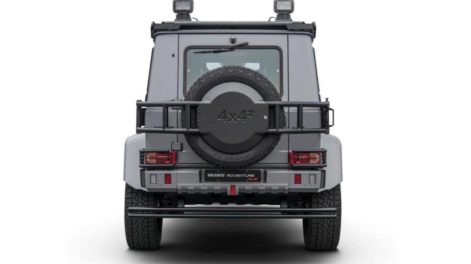 Mercedes G500 4x4² upravený od Brabusu 2