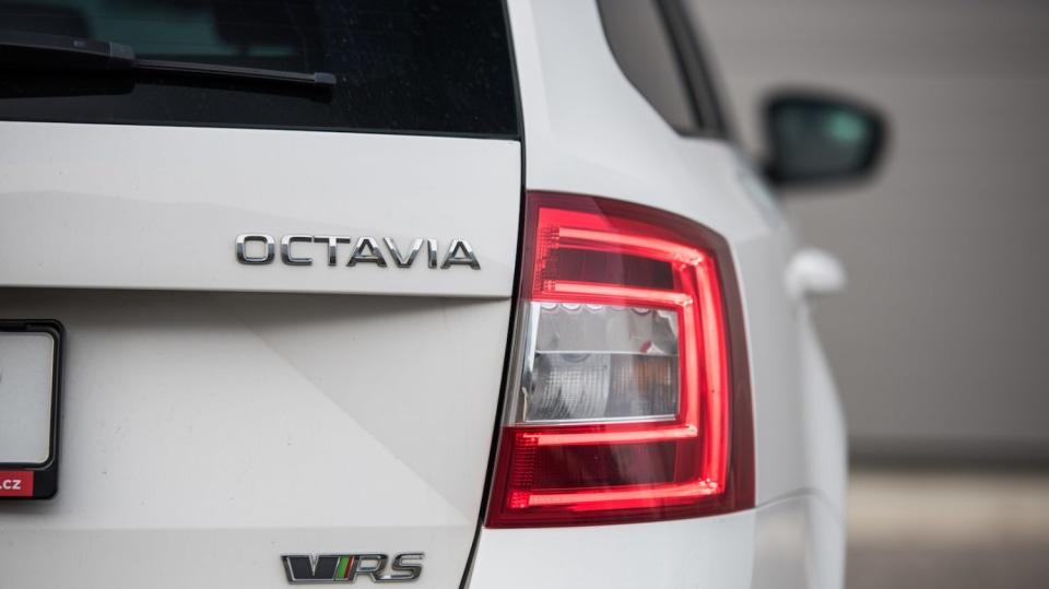 Škoda Octavia RS TDI exteriér 7