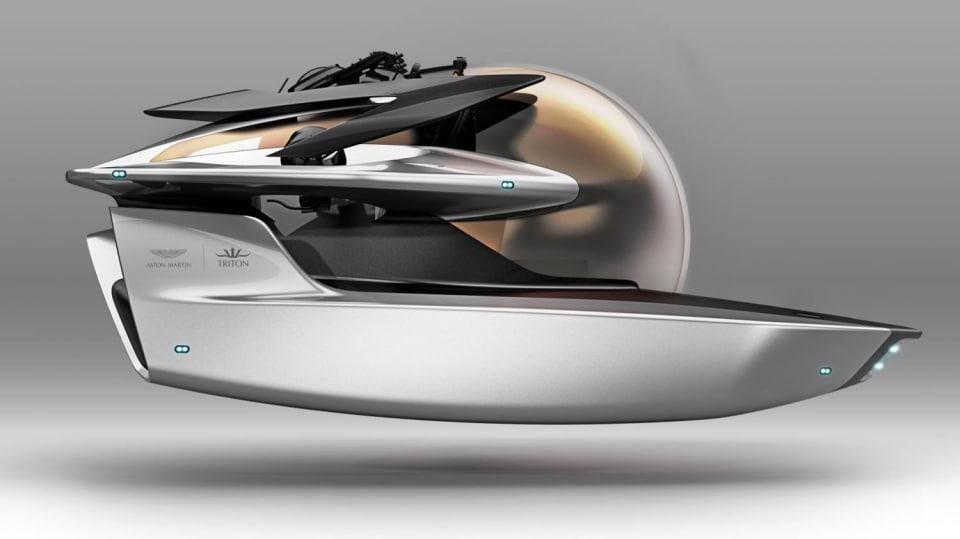 Aston Martin nabízí luxusní jachtu AM37 i ponorku Neptune. 2