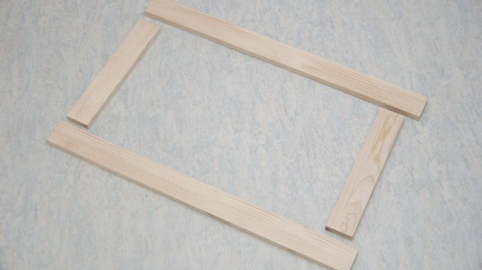 Sklopný stolek: rámeček sklopné nohy