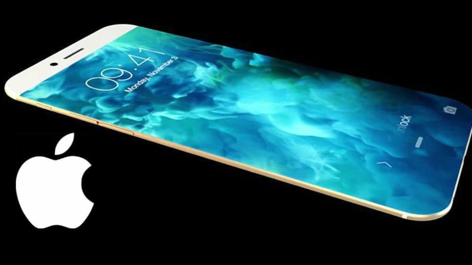 Koncept možného vzhledu chystaného iPhonu 8