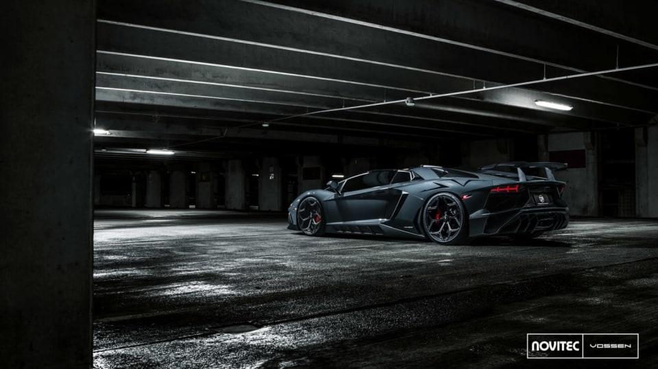 Lamborghini Aventador LP 750-4 SV Roadster od Novitec 5