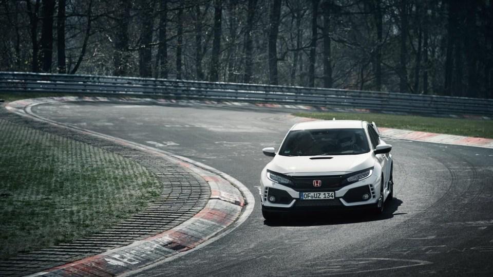 Nejrychlejší předokolka je Civic Type R - Obrázek 15