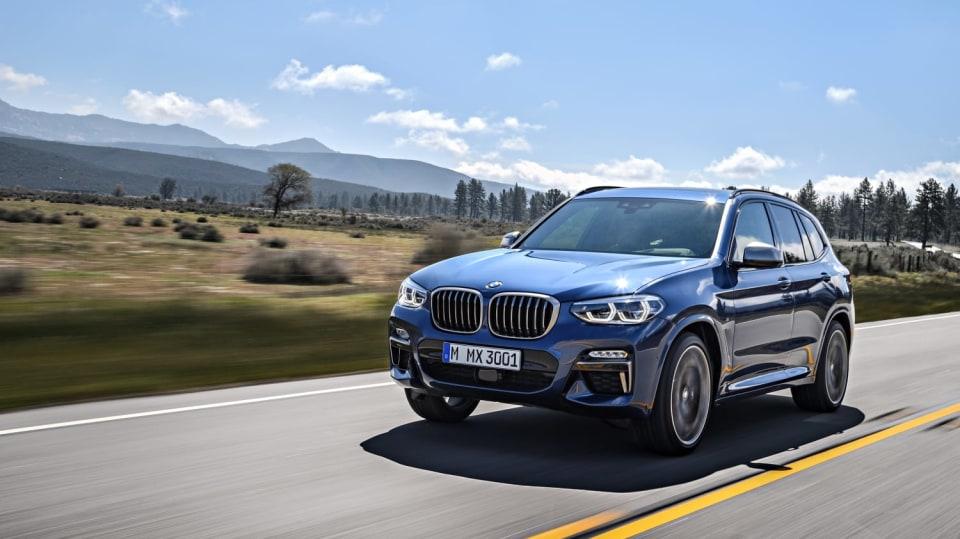 Nové BMW X3 20