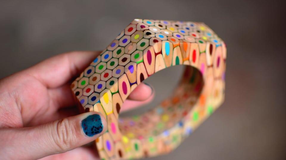 Jak využít barevné pastelky jinak 5