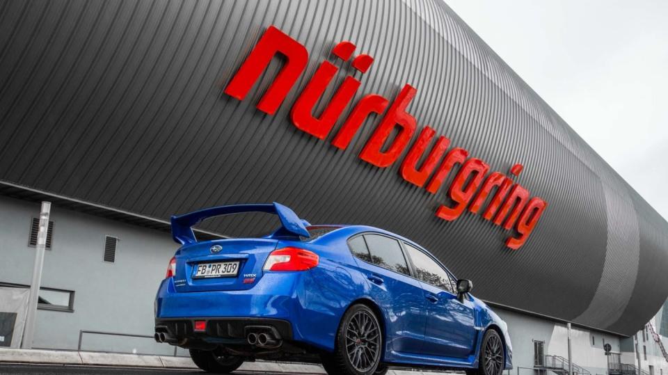 Speciál Subaru pro rekord na Nürburgringu 9