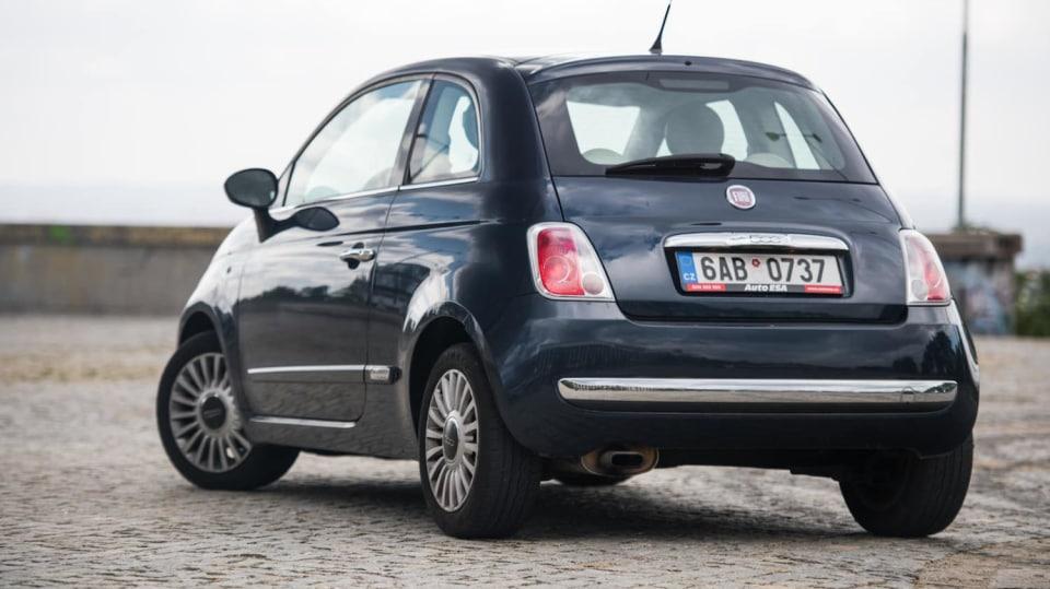Fiat 500 1.4 16v exteriér 1