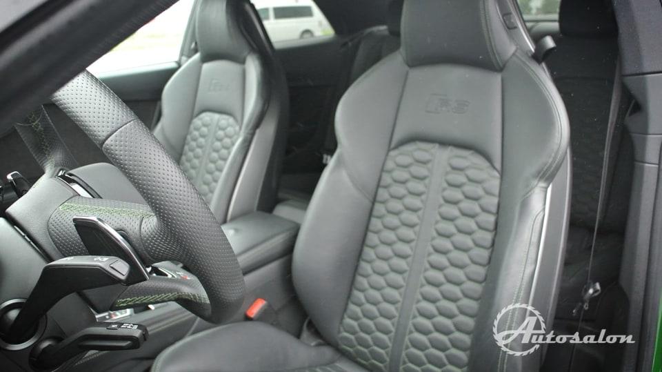 Audi RS5 - zelená, kterou budou zelení nenávidět 16