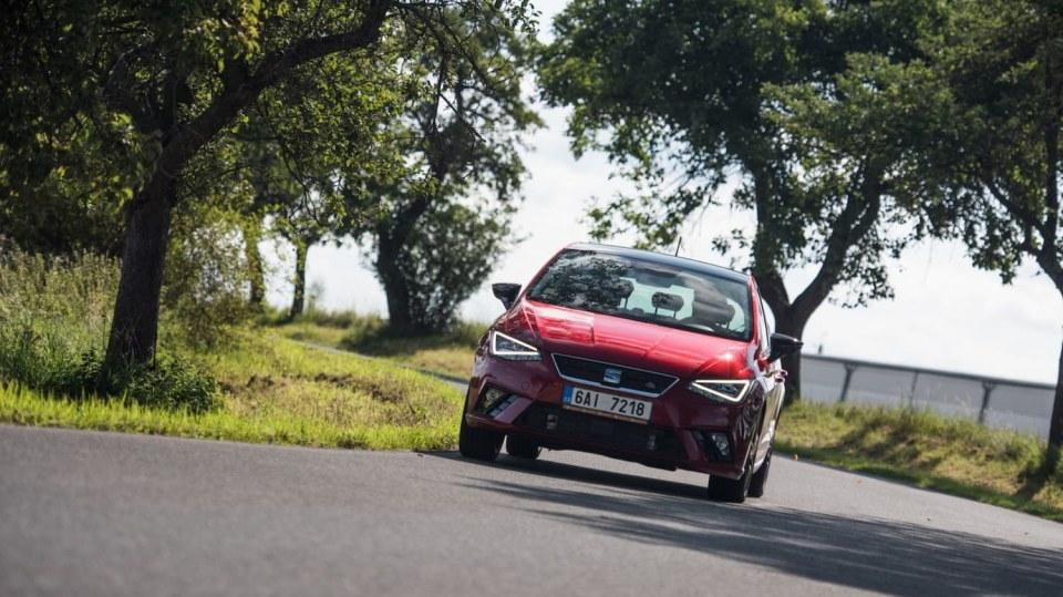 SEAT Ibiza FR 1.0 TSI jízda 1