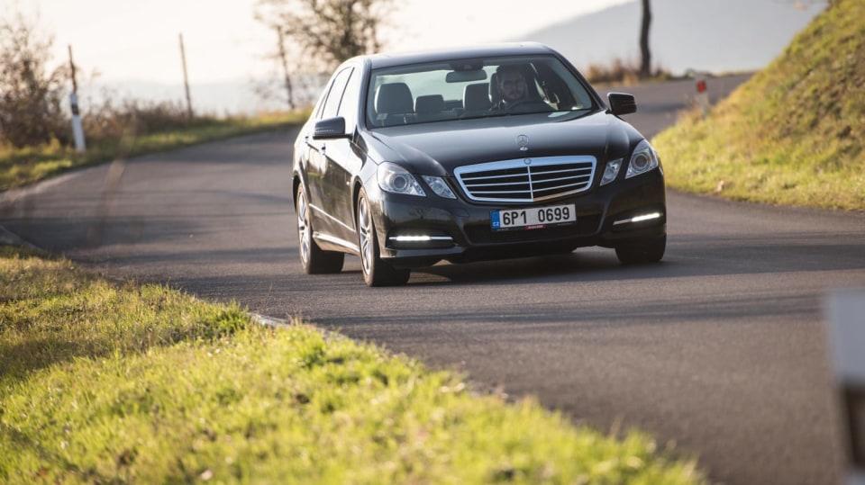 Mercedes-Benz E 220 CDI jízda 8