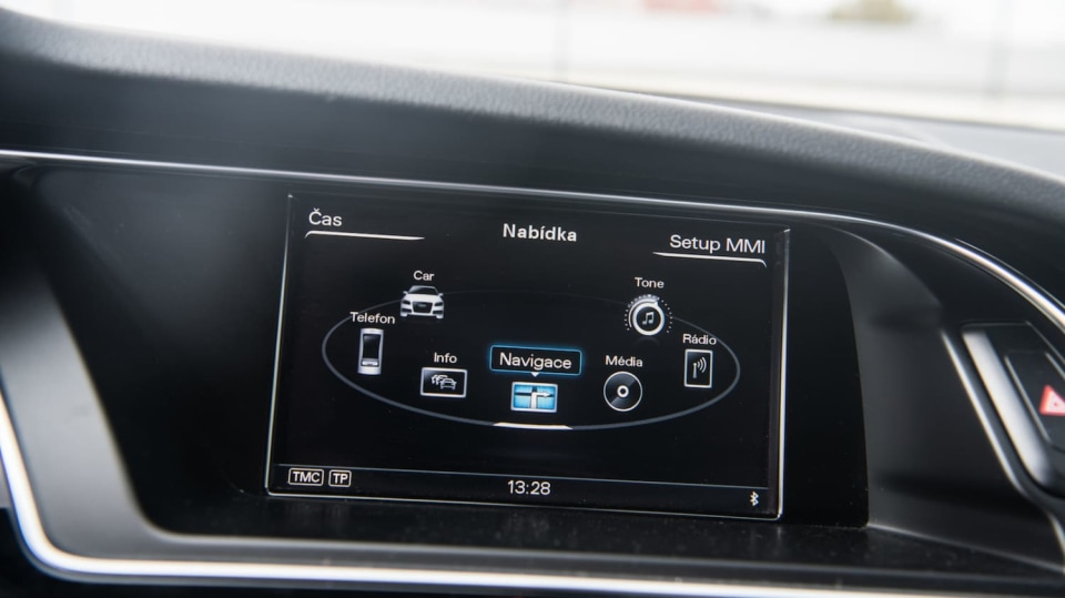 Audi A5 Sportback 2.0 TDI interiér 2