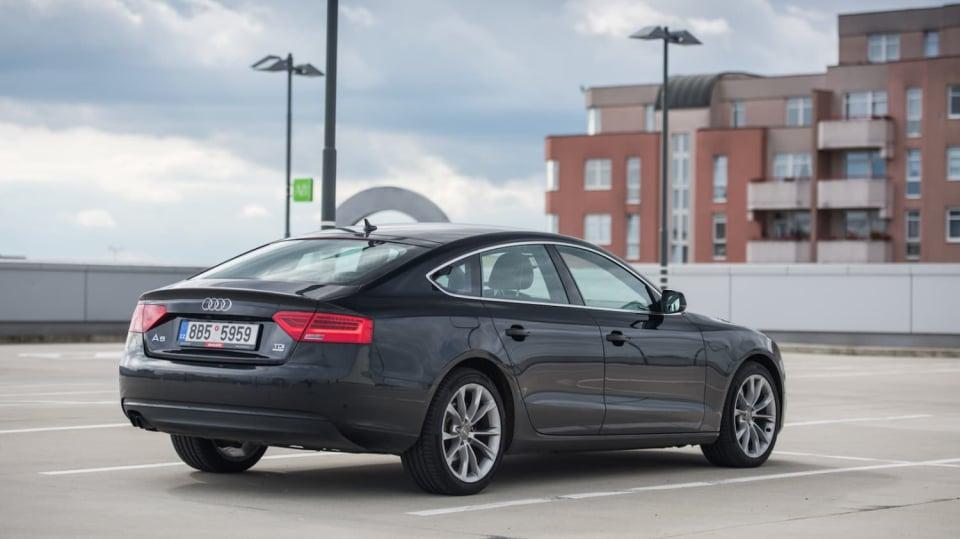 Audi A5 Sportback 2.0 TDI exteriér 9