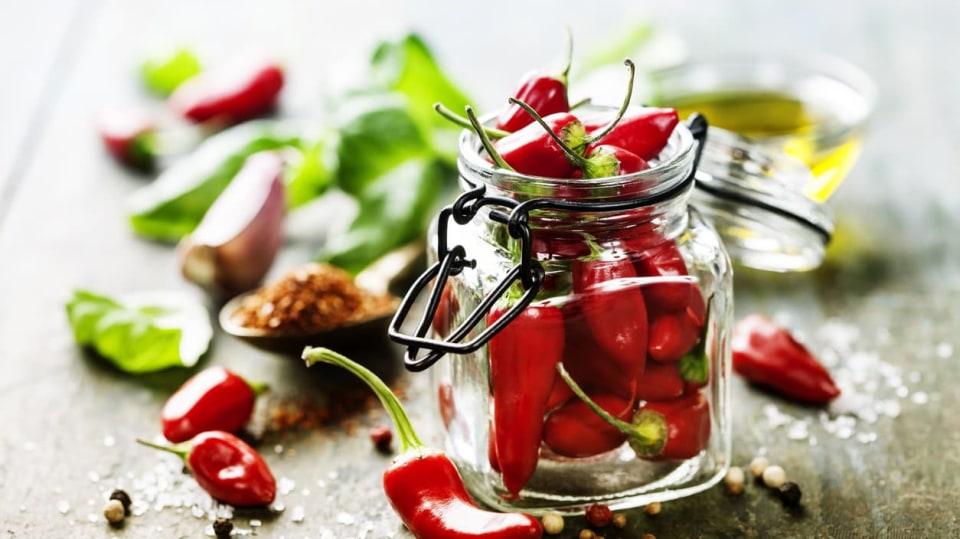 Chilli papričky (Capsicum frutescens)