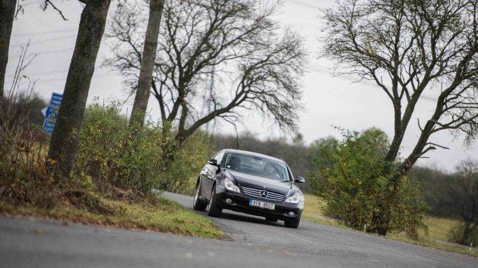 Mercedes-Benz CLS 320 CDI jízda 2