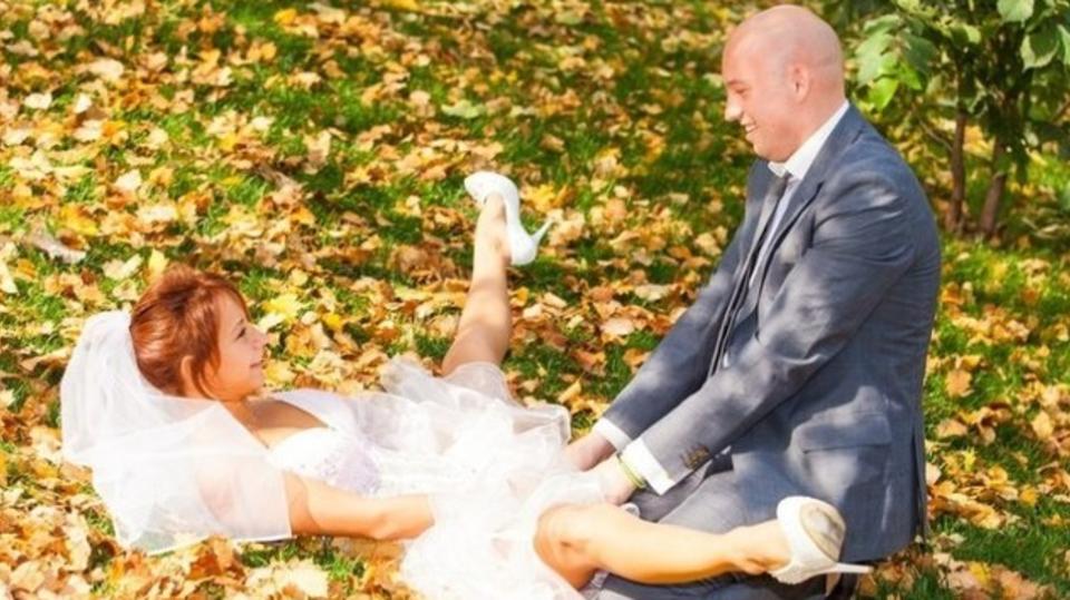 Sprosté svatební fotky 16