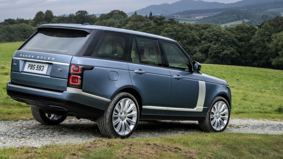 Range Rover facelift 1