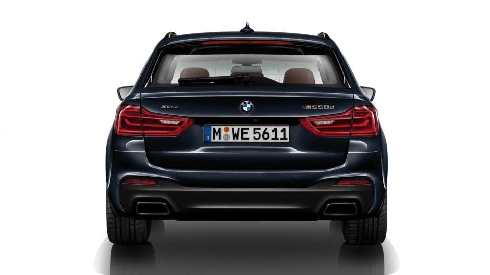 BMW M5: BMW M550d xDriveTouring si nárokuje pouze 6 litrů na sto