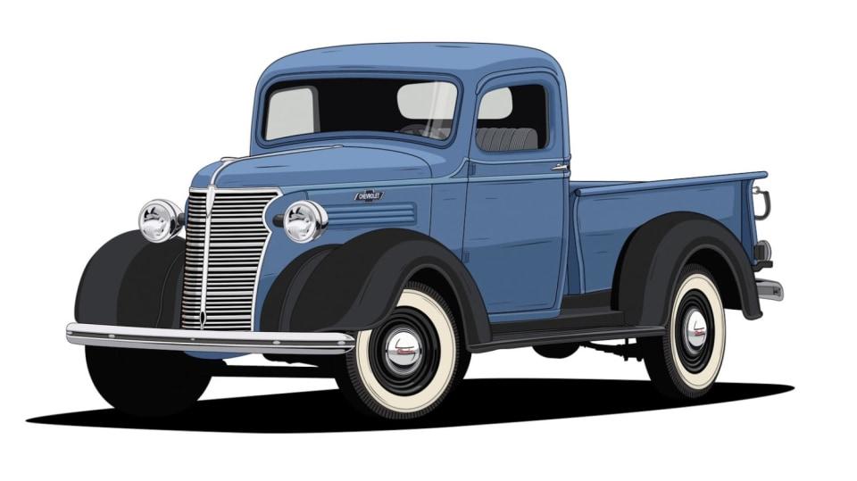 Historie pickupů od Chevroletu. 5