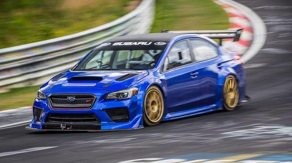 Subaru WRX STI Type RA NBR Special 4