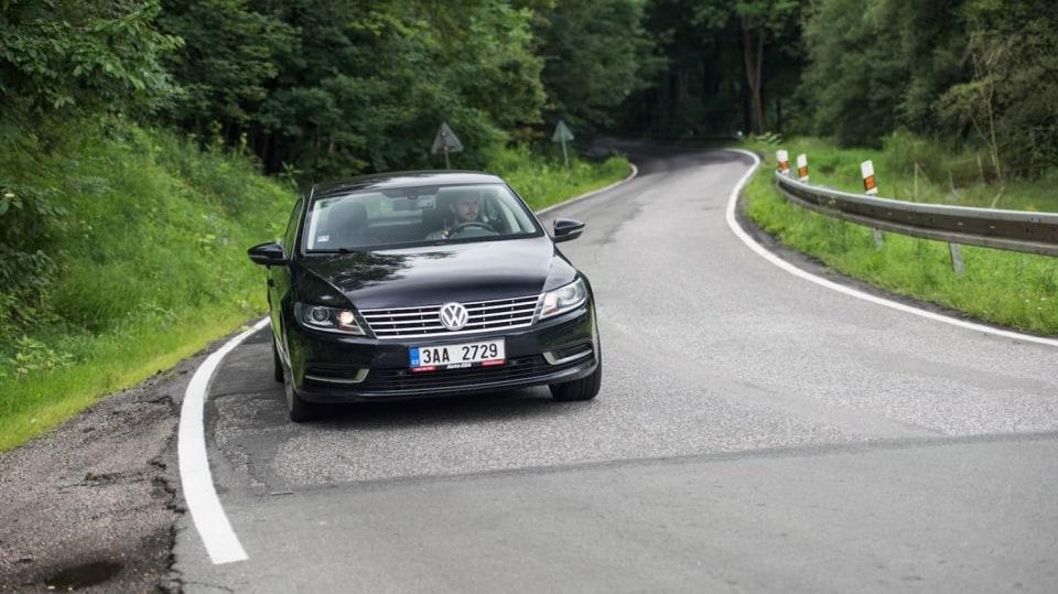 Ojetý Volkwagen CC jízda 2