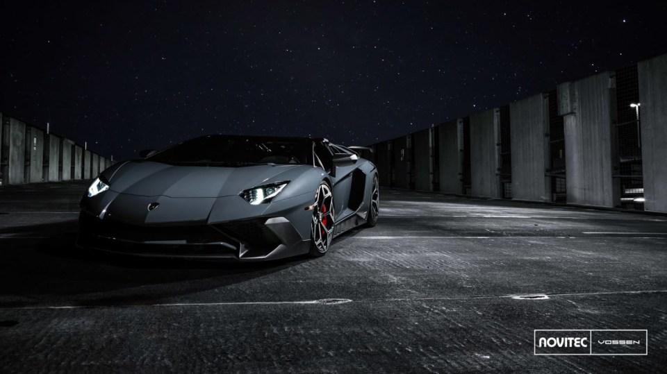Lamborghini Aventador LP 750-4 SV Roadster od Novitec 4
