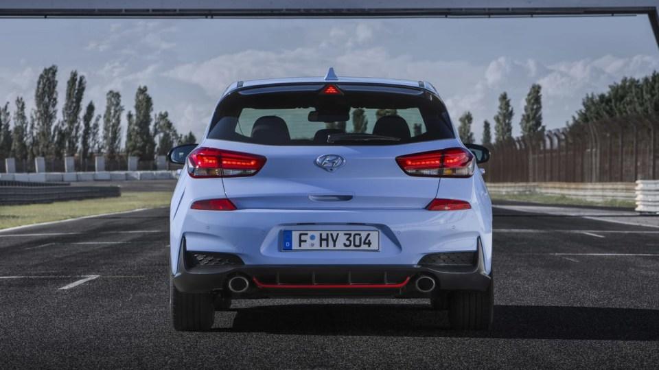 Prohlédněte si ostrý hatchback Hyundai i30 N do detailu. 6