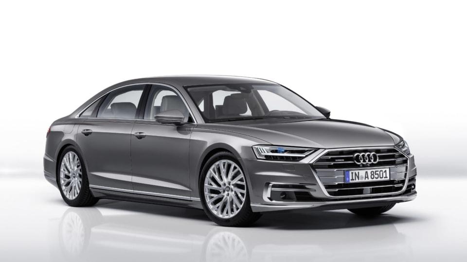 Nové Audi A8 v prodloužené luxusní verzi L. 7