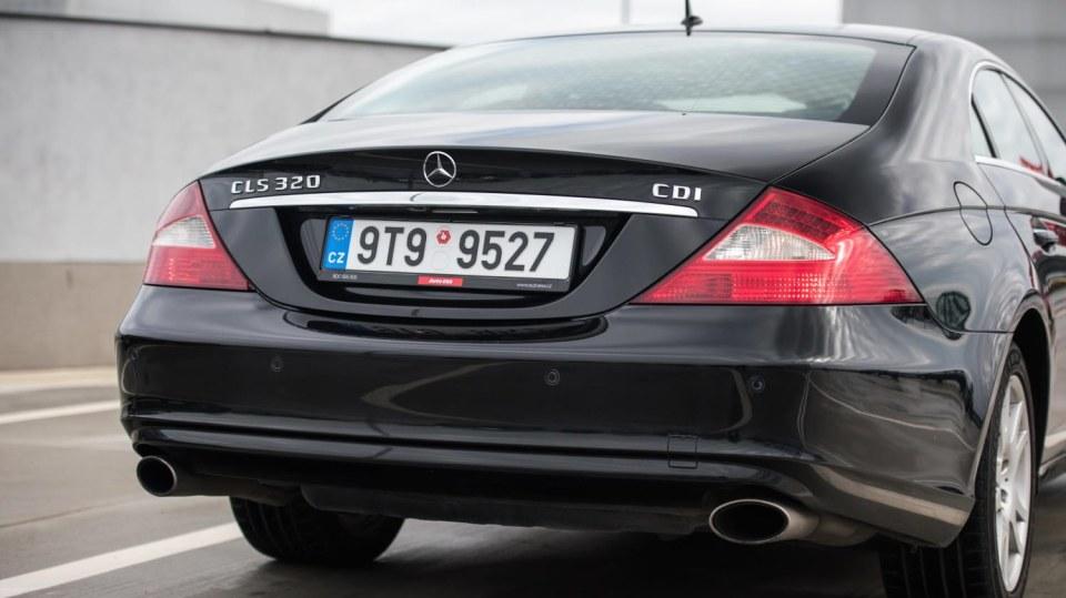 Mercedes-Benz CLS 320 CDI exteriér 8