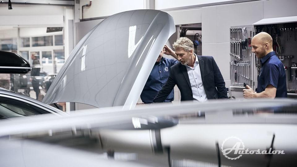 Revoluce v servisech Volvo - nechte se hýčkat 6
