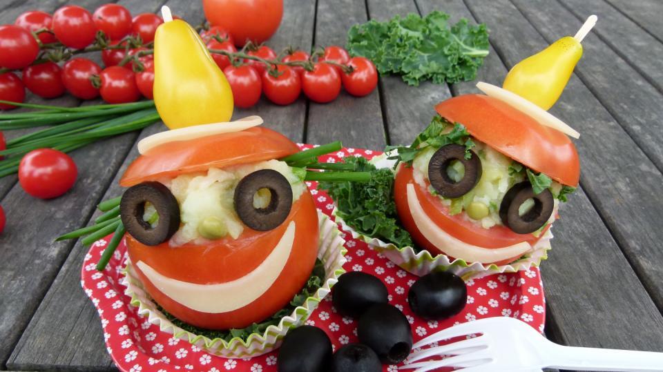 Šašci z rajských jablíček, na kterých si pochutnají děti i dospělí 2