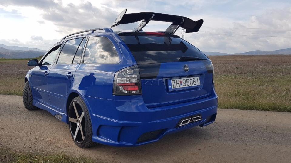 Tuningová Škoda Octavia ze Slovenska 4
