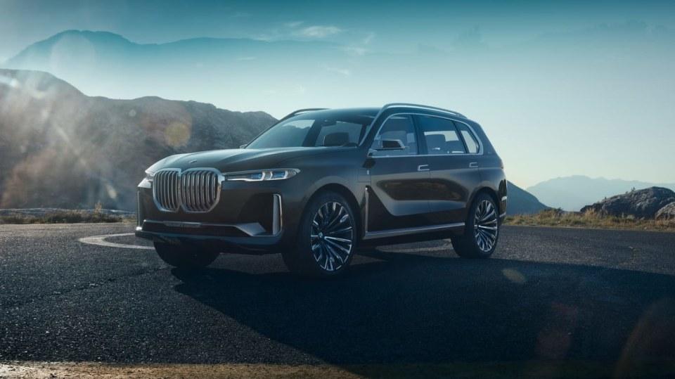 BMW Concept X7 iPerformance 1