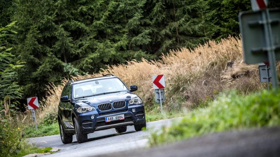 BMW X5 xDrive30d jízda 7