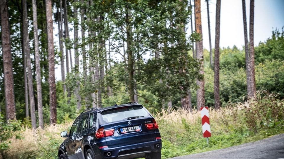 BMW X5 xDrive30d jízda 9