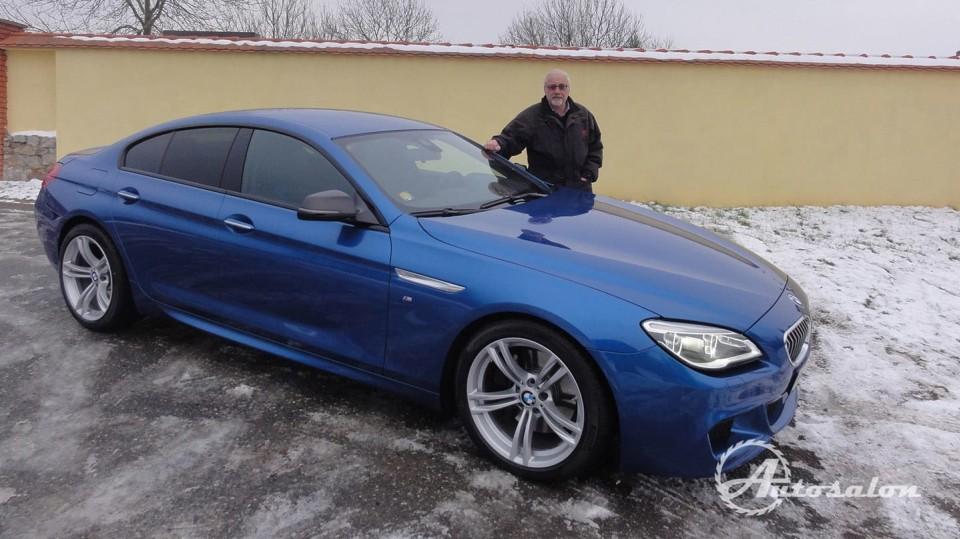 BMW 640d Gran Coupé  1