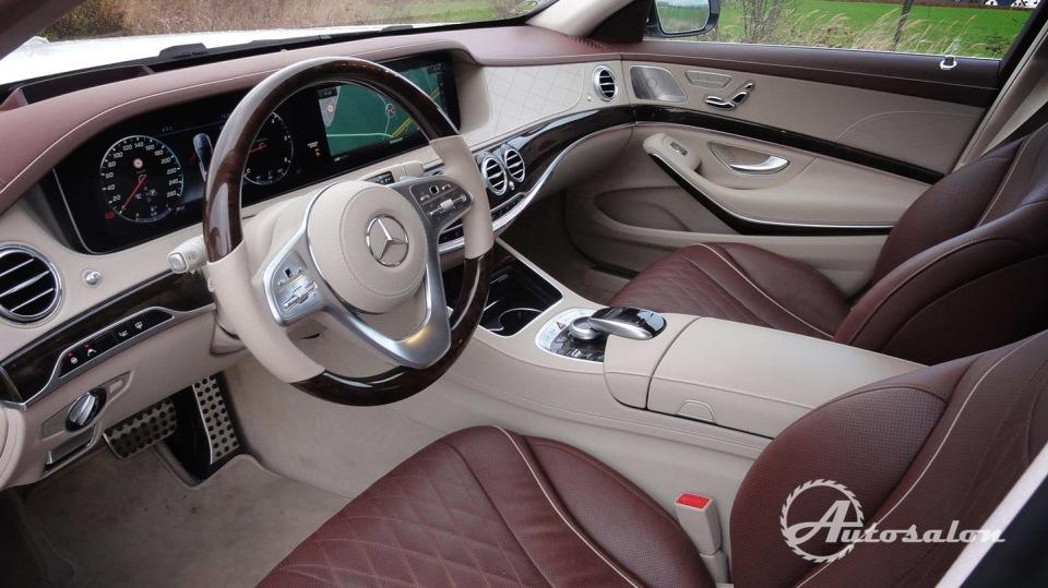 Mercedes S 400d 8
