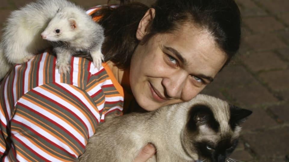 Debbie a její fretky