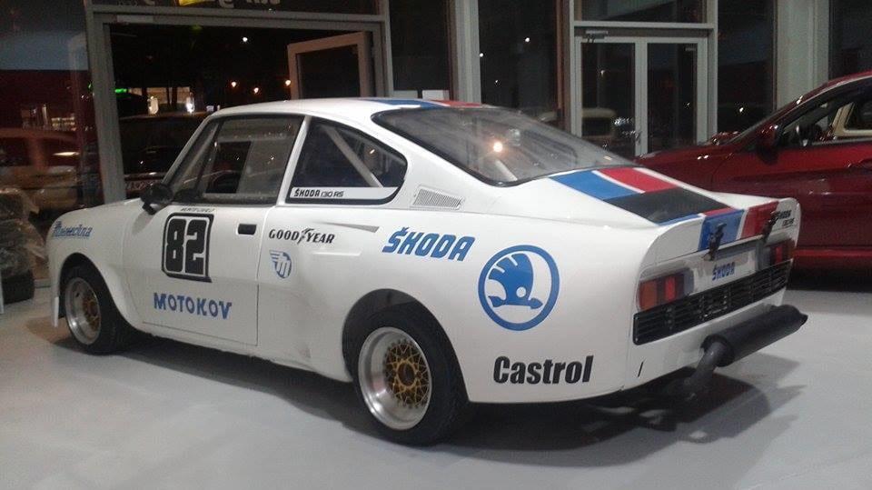 Škoda 130 RS na prodej 8