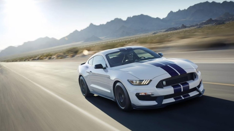 Ford Shelby  GT350 a GT350R