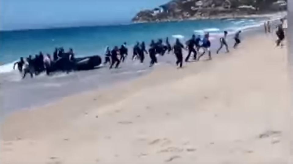 Vylodění u španělského břehu